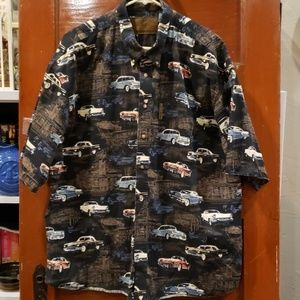 North River Vintage Hot Rod Button Up Shirt